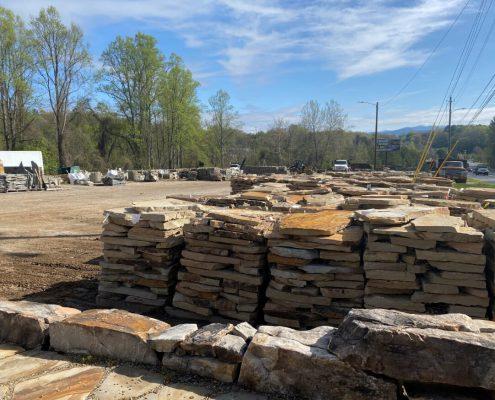 Asheville Yard - Flagstone